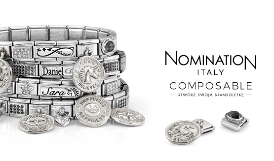 Nomination Composable Silvershine AW18