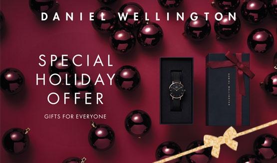 Daniel Wellington Christmas zestaw