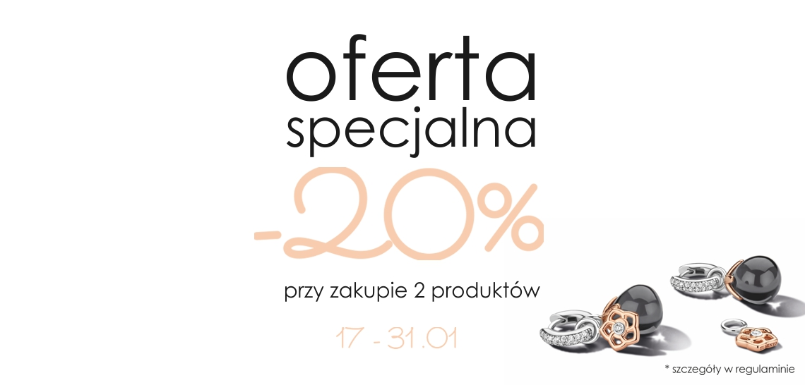 Oferta specjalna -20%