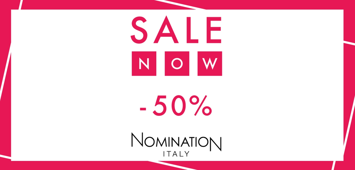 SALE Wyprzedaż Nomination