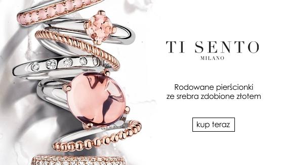Ti Sento SS18 pierścionki rose gold