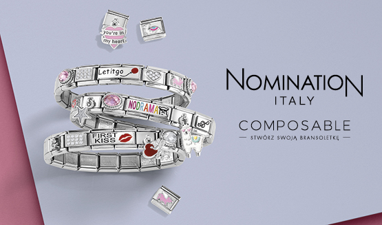 Nomination Composable SS19 Silvershine