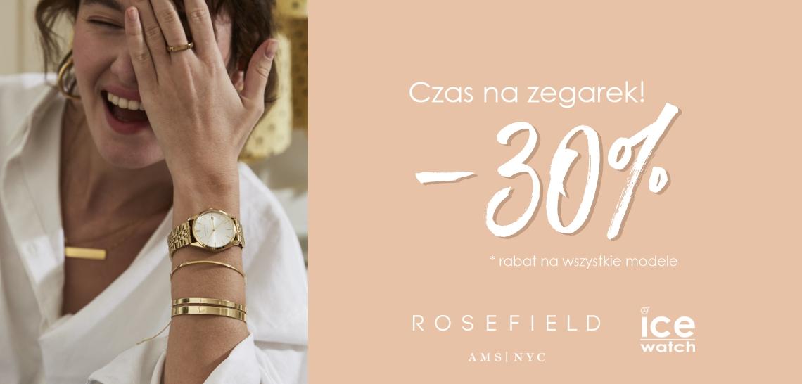 Zegarki Rosefield Ice Watch -30%