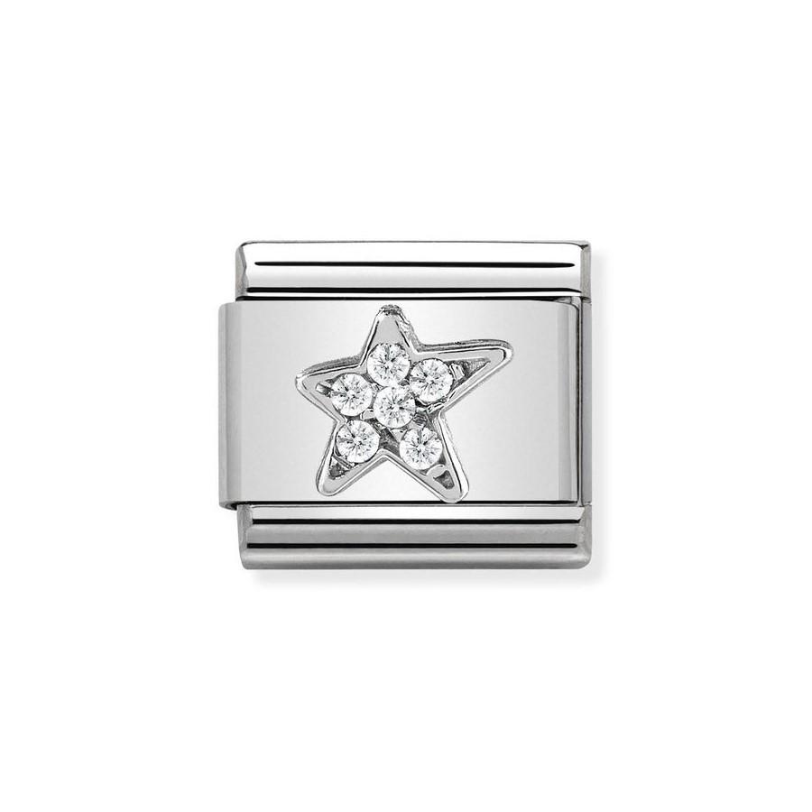 Composable Silver Gwiazdka 330304/25
