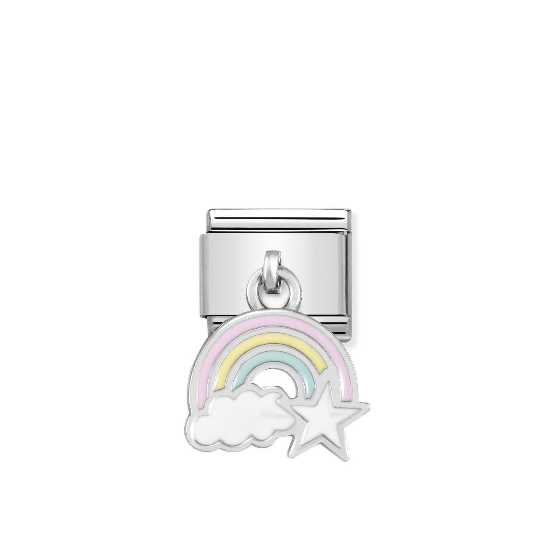 Composable Silver Charms Kolorowa tęcza 331805/17