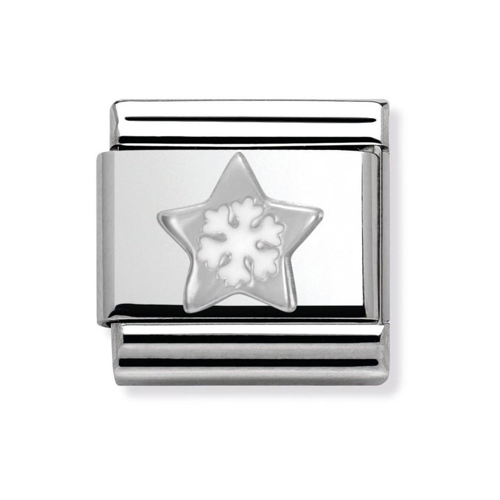 Composable Silver Śnieżynka w gwiazdce 330204/01